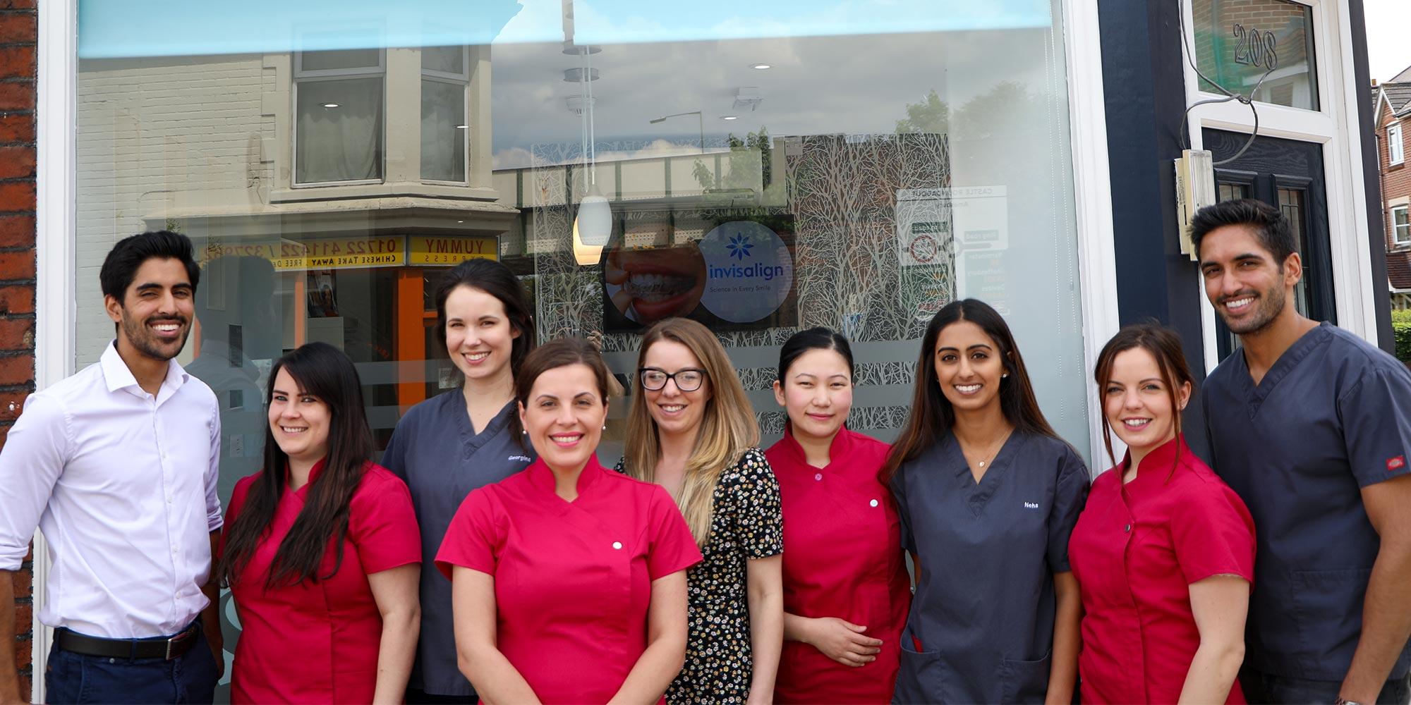 Sarum dental team