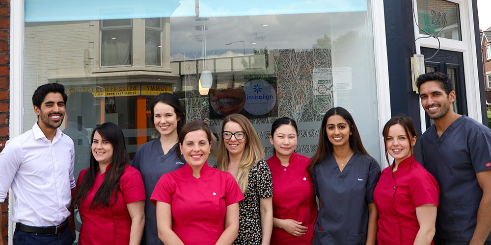 Sarum Dental Practice smiling team