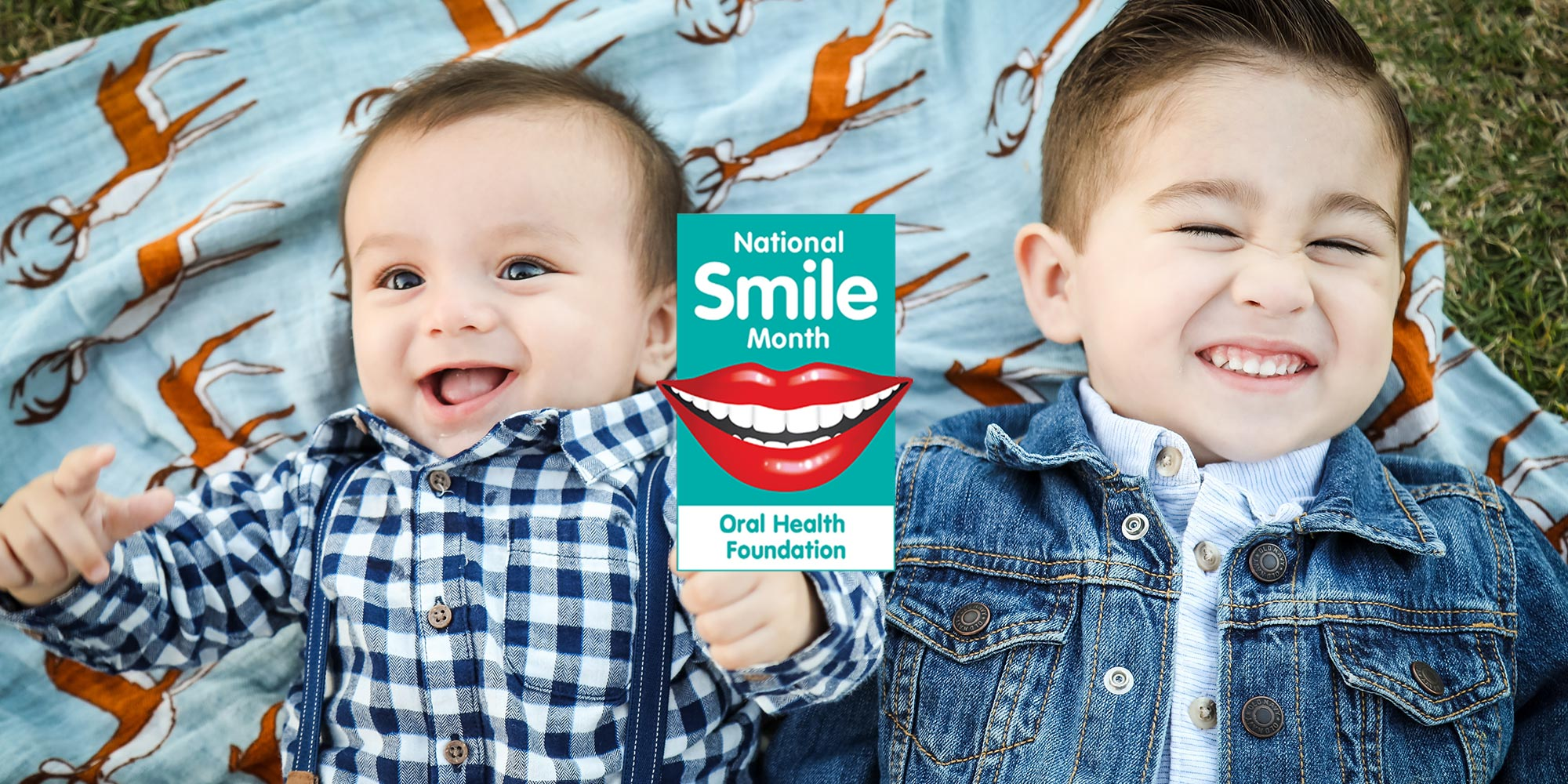 Put your best smile first – National Smile Month!